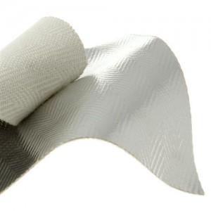 Gentx Dual Mirror 1017 PFR Rayon Herringbone aluminized fabric