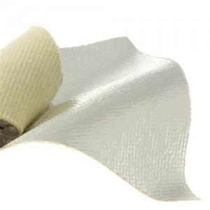 Gentex Dual Mirror 1081-1 Aramid / Fiberglass Plain Weave aluminized fabric